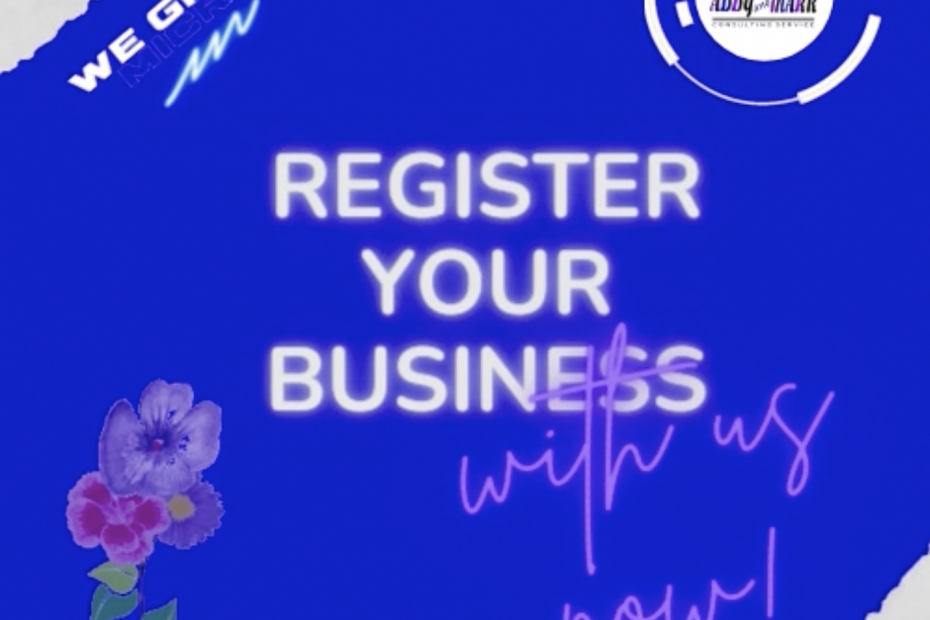 Register Your Business with us! 📈💰
